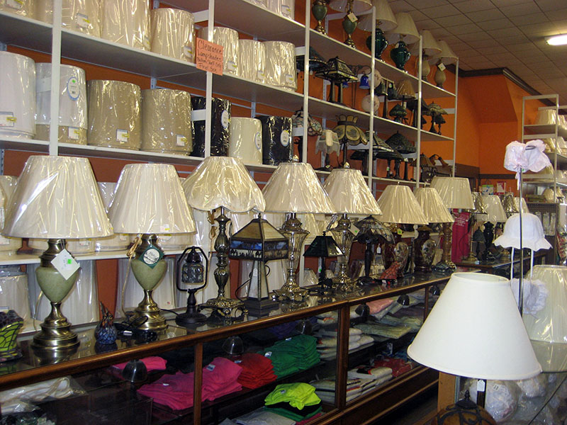 Custom Lamp Building U0026 Rewiring In Erie, PA Kraus Dept Store ...
